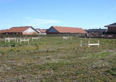 Uge 2: Afsætning af huset ved landmåler