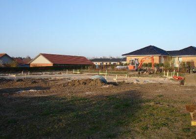 Uge 3: Udgravning til fundamentet.