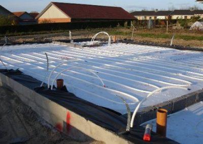 Uge 4: Etablering af gulvvarme samt brugsvand
