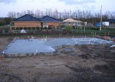 Uge 4: Støbning af fundament.