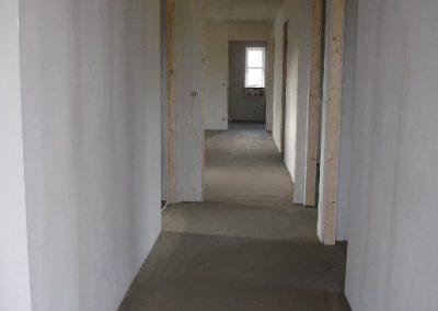 Uge 9: Udlægning af flydespartel på gulve.